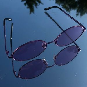 Trendy urban outfitters purple sunglasses💜